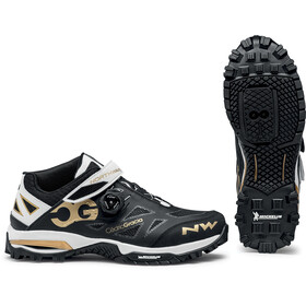 Northwave Enduro Mid Shoes Men, black/off white/gold